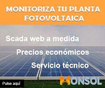 Monsol, monitorización de plantas fotovoltaicas